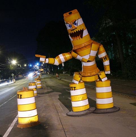 Barrell-monster